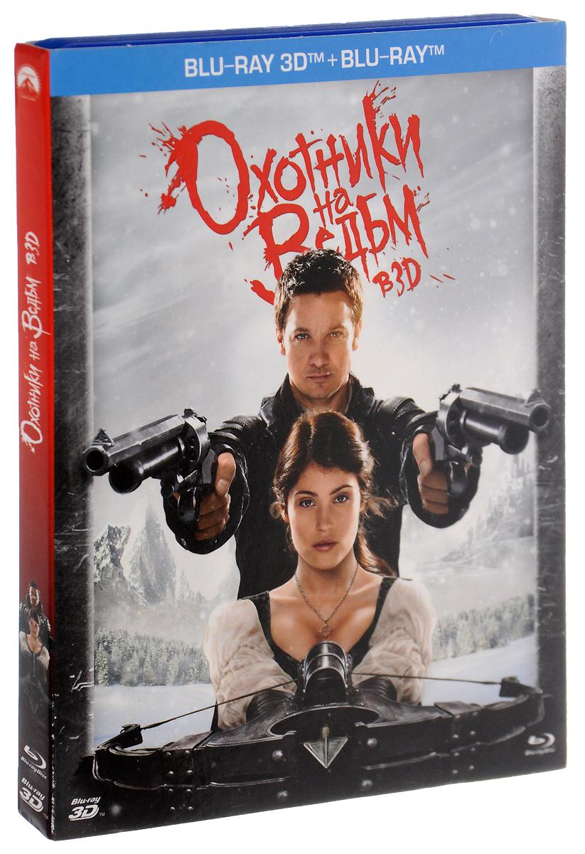 Охотники на ведьм 3D и 2D (2 Blu-ray) 2013 2 3D Blu-ray + 2D Blu-ray