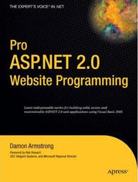 Damon Armstrong. Pro ASP.NET 2.0 Website Programming