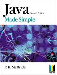 P K MCBRIDE. Java Made Simple