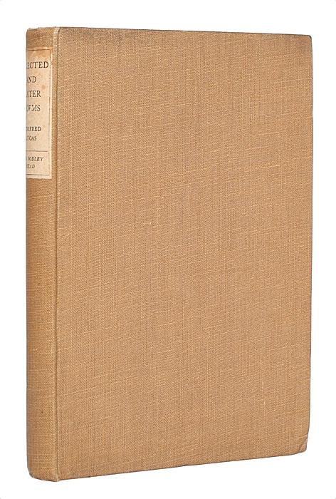 Уинифред Лукас. Избранные и поздние стихотворения1562Лондон, 1927 год. Издательство Jane Lane the Bodley Head Limited. Издательский переплет. Сохранность хорошая. В издании представлены избранные стихотворения английской поэтессы Уинифред Лукас.