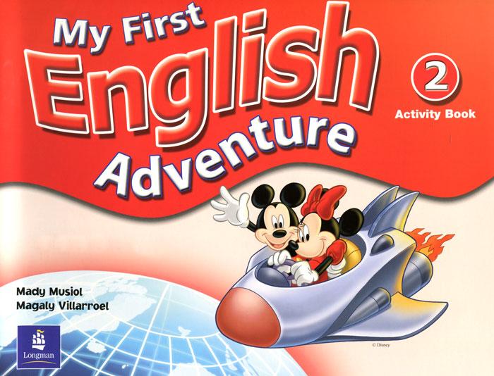 My First English Adventure: Activity Book 2 гель для бровей touch in sol brow gellin bar 16 гр тон 2 rachel
