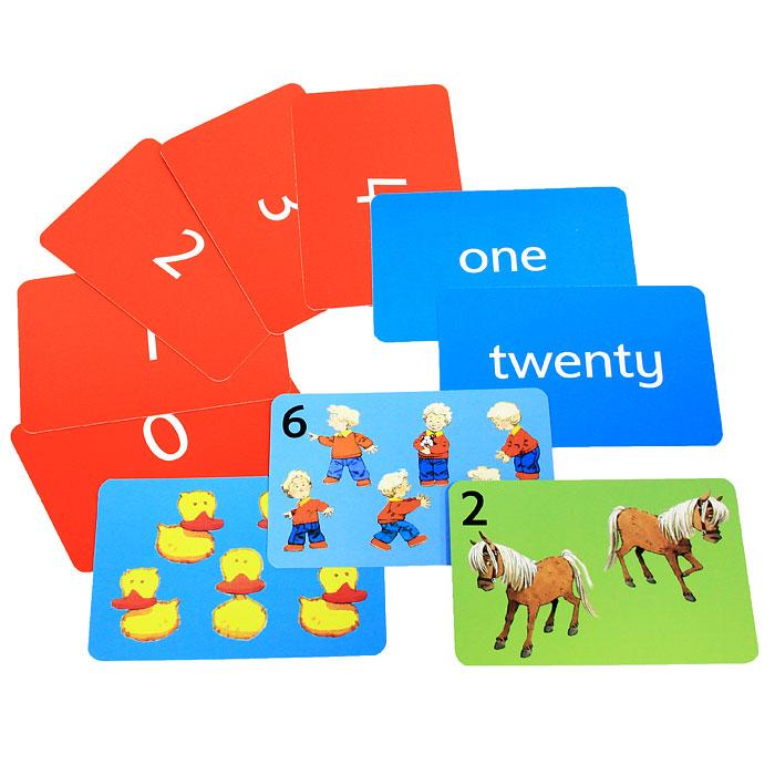 Heather Amery. 123 Flashcards (набор из 50 карточек)