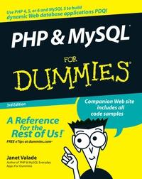 Janet Valade PHP & MySQL® For Dummies® php srl