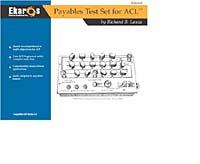 Richard B. Lanza. Payables Test Set for ACL