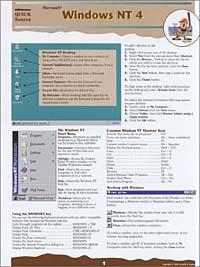 Quick Source. Microsoft Windows NT 4.0 Quick Source Guide