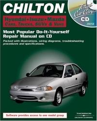 Chilton Chilton, Hyundai, Isuzu, And Mazda Cars, Trucks, SUVs & Vans: Most Popular Do-It-Yourself Repair Maual on CD (Total Car Care) hyundai it a7 планшет