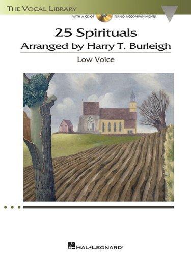 Harry T. Burleigh. 25 Spirituals Arranged by Harry T. Burleigh (+ CD-ROM)