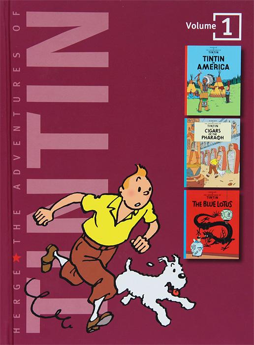 Herge. The Adventures of Tintin: Volume 1