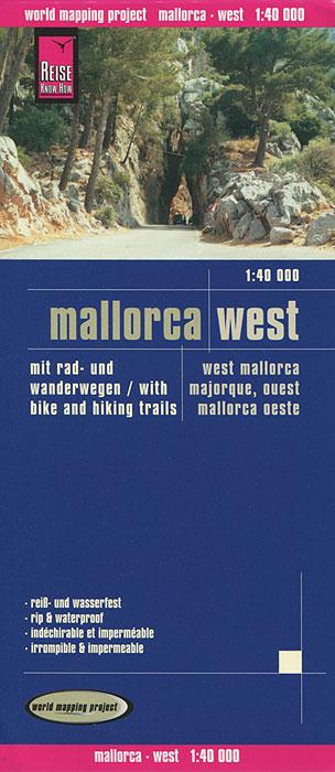 Mallorca West. Карта
