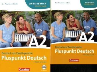 Kursbuch + Arbeitsbuch, m. Audio-CD (Lektion 1-14), 2 Tle.