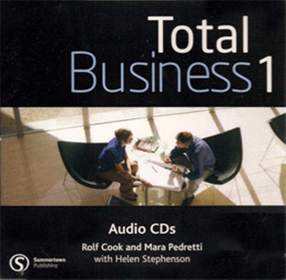 Total BusinEssential 1 Pre-Intermediate Class Audio CD(x1)