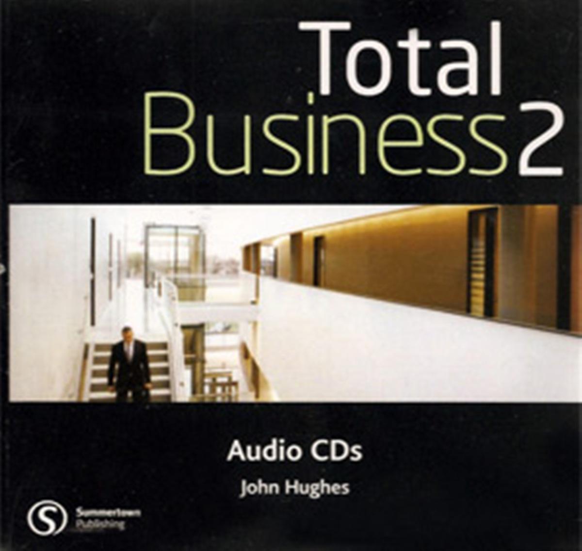 Total BusinEssential 2 Intermediate Class Audio CD(x1)