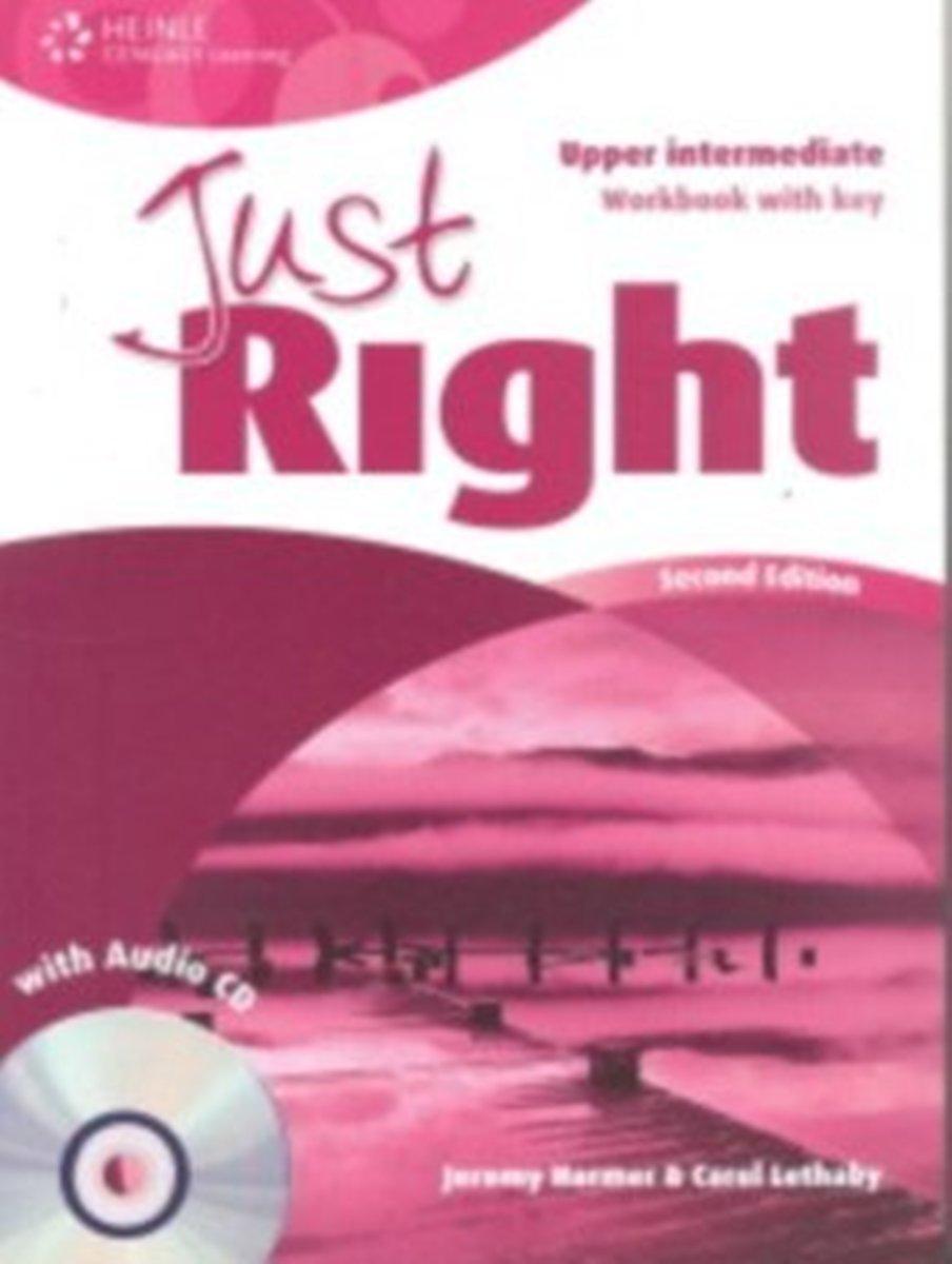 Just Right Upper-Intermediate Workbook (With Key) + Audio CD reward upper intermediate practice book with key