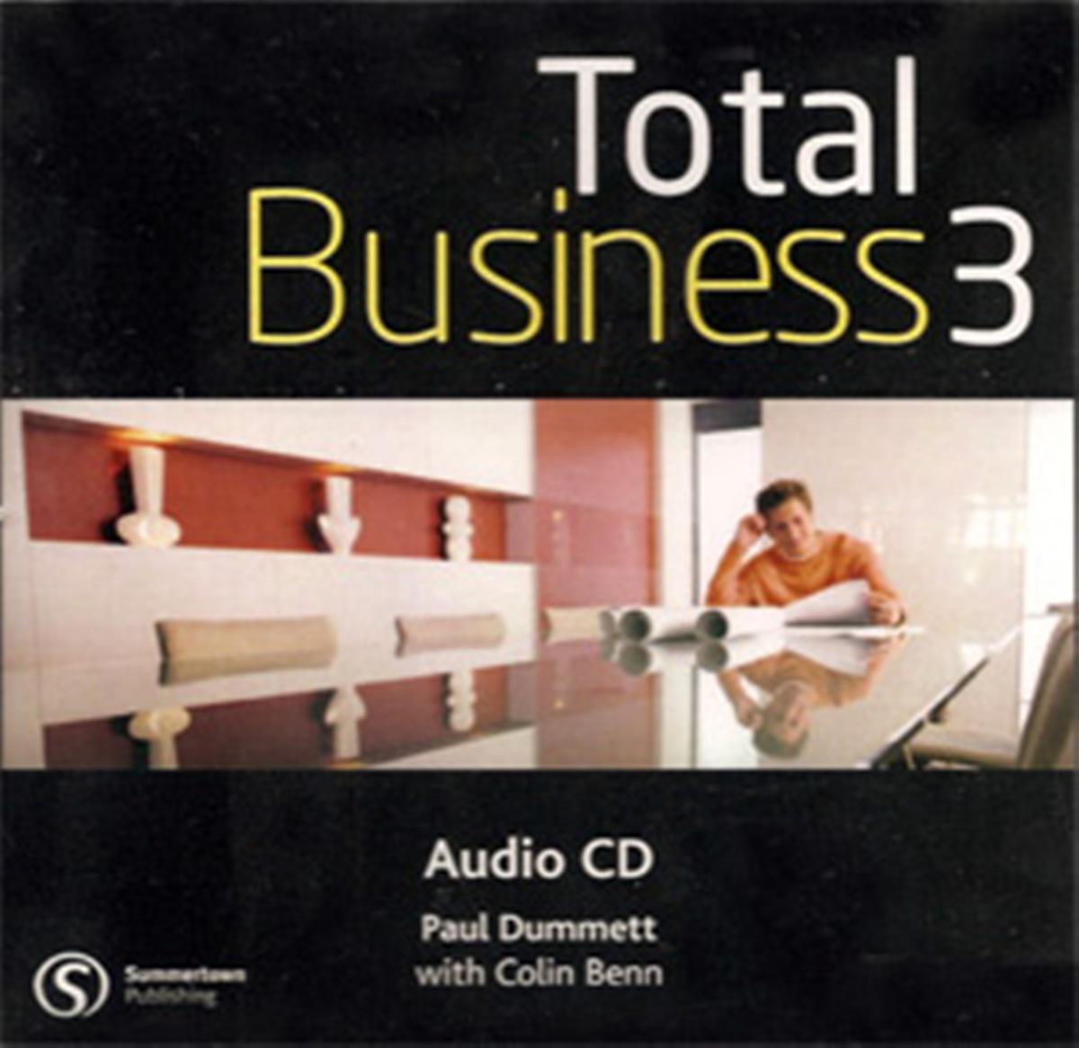 Total BusinEssential 3 Upper-Intermediate Class Audio CD(x1)