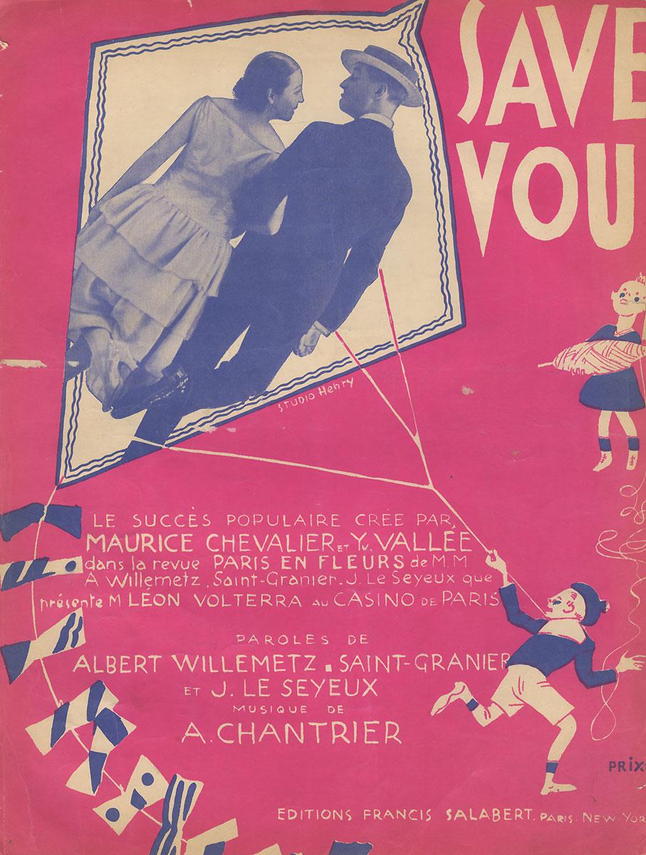 Savez-vous! Chanson-saynete1562Вашему вниманию предлагаются ноты романса начала прошлого века Savez-vous! Chanson-saynete.