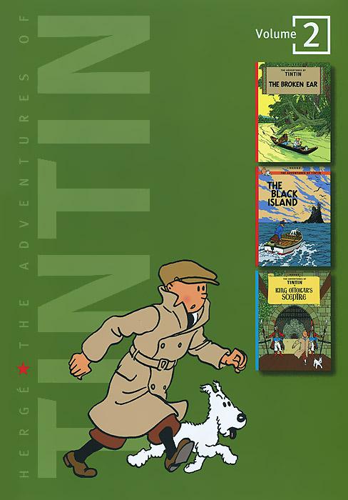 Herge. The Adventures of Tintin: Volume 2