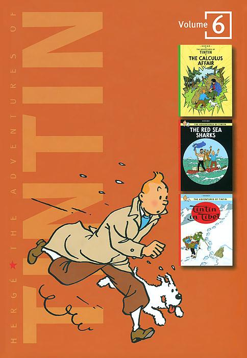 Herge. The Adventures of Tintin: Volume 6