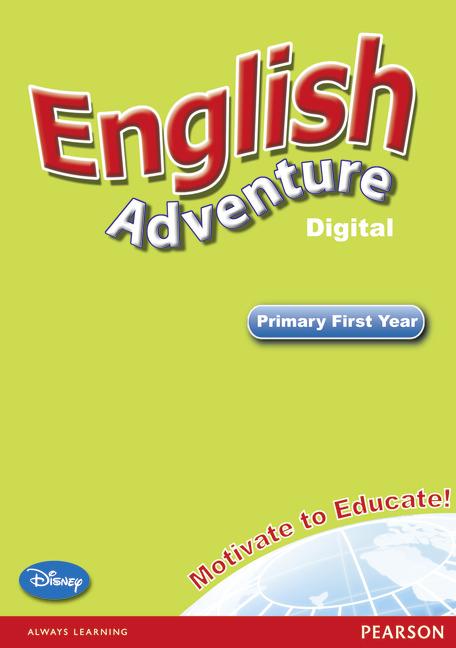 English Adventure Level 1 Interractive white board dumbo level 1