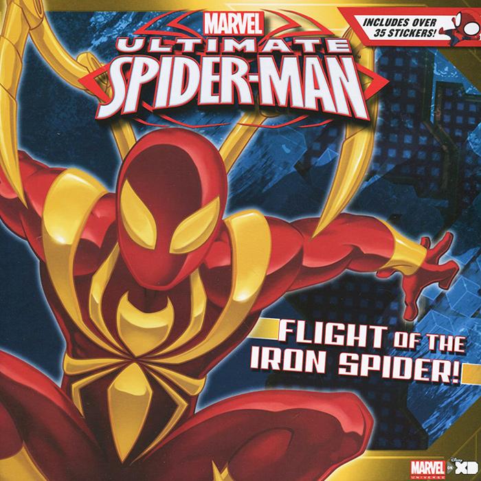 Ultimate Spider-Man: Flight of the Iron Spider! (+ наклейки)