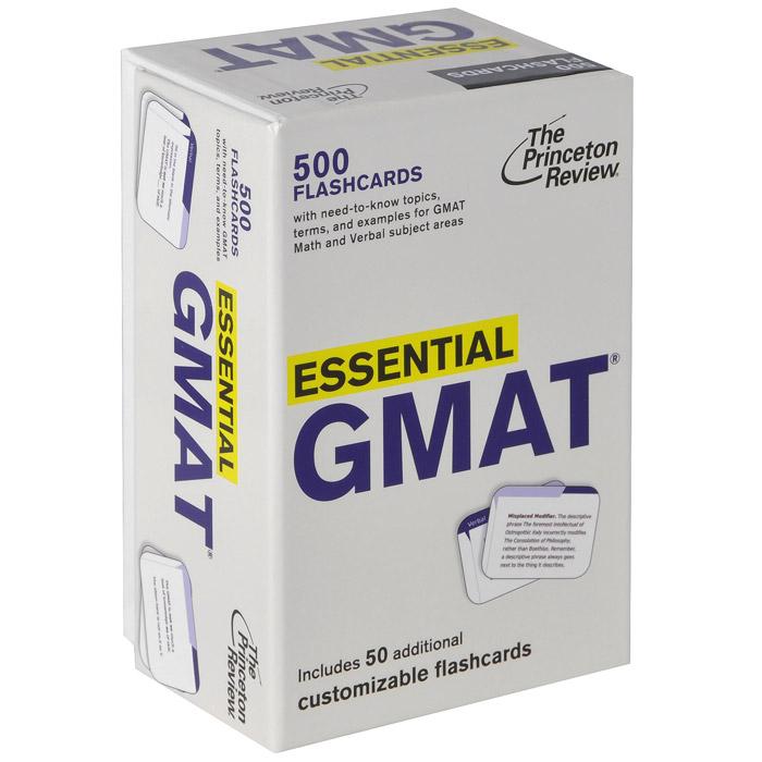 Книга Essential GMAT (500 flashcards)
