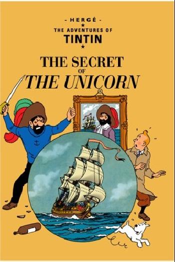 Herge. Adventures of Tintin: Secret of the unicorn