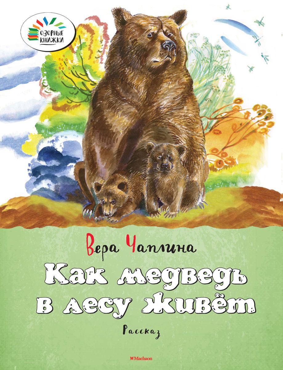 Как медведь в лесу живёт