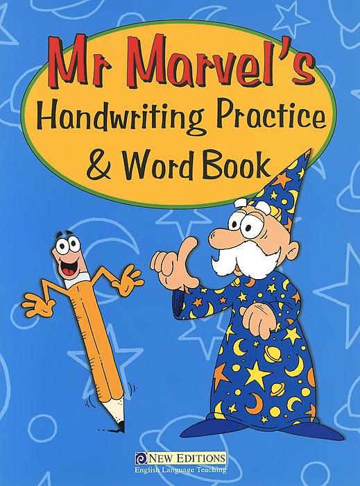 Mr Marvel's Handwriting Practice & Word Book