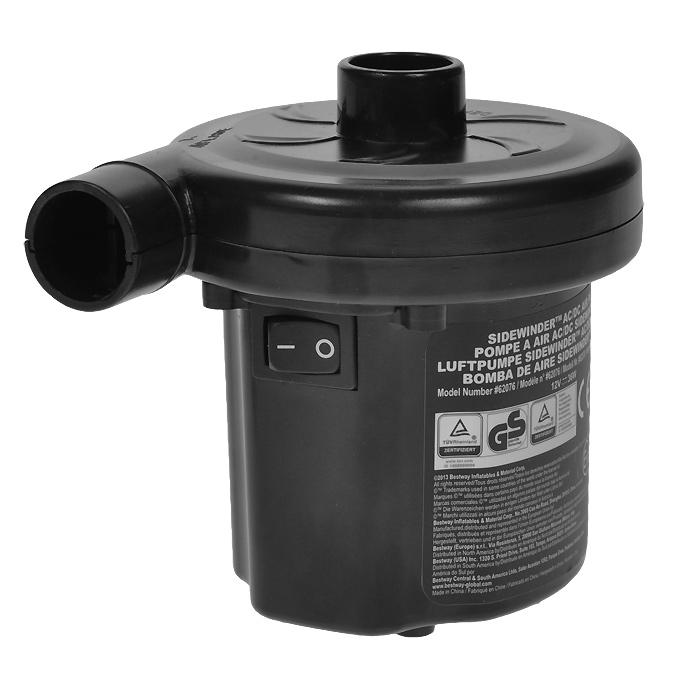 Насос электрический Bestway, цвет: черный, 12В/220В. 62076a026124Компактный электрический насос Bestway работает автомобильного прикуривателя 12В и от электросети 220В. Два режима работы - накачивание или откачивание воздуха. В комплекте 3 насадки-переходника под различные виды клапанов. Гарантия производителя: 60 дней. Характеристики: Материал: пластик, металл. Размер насоса: 9 см х 12 см х 10 см. Напряжение: 12/220 В. Мощность 35 Вт.