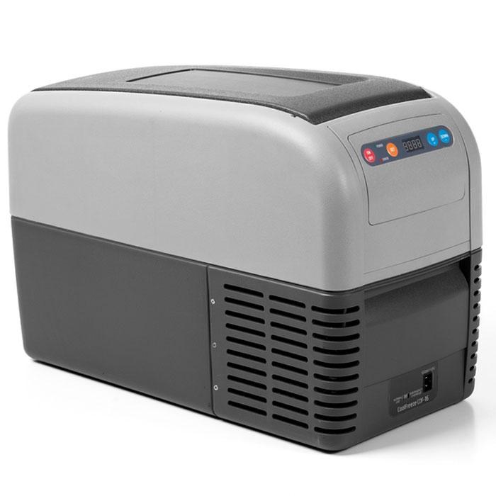WAECO CoolFreeze CDF-16 автохолодильник 15 лTF-14AU-12Мобильный компрессорный холодильник для охлаждения и замораживания WAECO CoolFreeze CDF-16.Легкие портативные холодильники серии WAECO CoolFreeze CDF по простоте в эксплуатации не уступаюттермоэлектрическим холодильникам. Они очень мобильны благодаря плечевому ремню и ручкам для переноски.Очень узкие и компактные холодильники, представляет собой превосходное «нишевое» решение. Стандартное иглубокое охлаждение до -18 °C при минимальном электропотреблении, вне зависимости от температурыокружающей среды. С высокой производительностью и надежным качеством эта модель обеспечиваетстандартное охлаждение и глубокую заморозку.