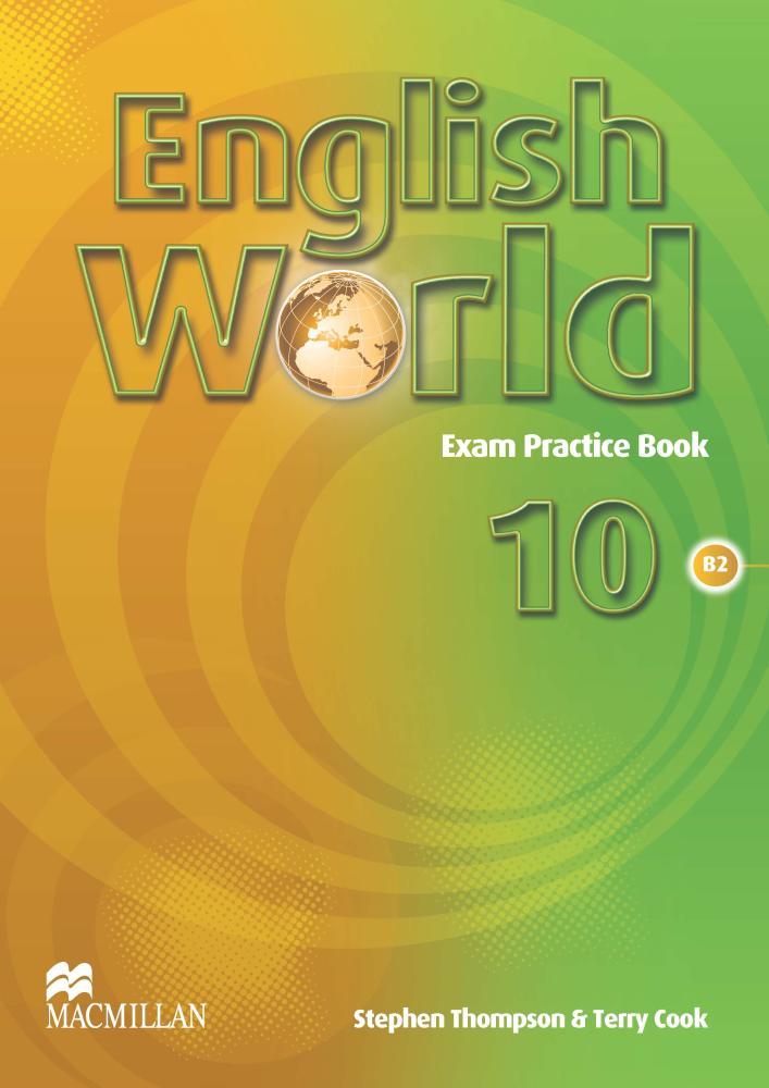 English World: Level 10: Exam Practice Book гель для бровей touch in sol brow gellin bar 16 гр тон 2 rachel