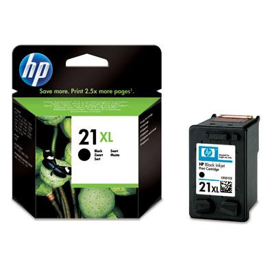 HP C9351CE (21 XL), Black картридж для струйных принтеровC13T08794010Струйный картридж HP 21XL с черными чернилами предназначен для активной печати при меньшем количестве замен. Получайте больше отпечатков с насыщенным черным текстом лазерного качества и экономьте деньги.