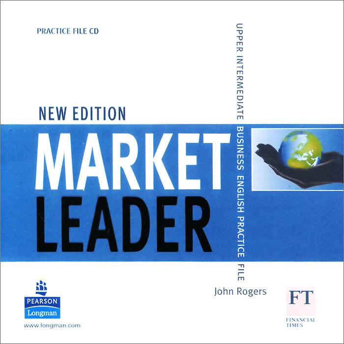 John Rogers Market Leader: Upper Intermediate Business English Practice File (аудиокурс CD) sexy women s u neck candy color criss cross 3 4 sleeve crop top