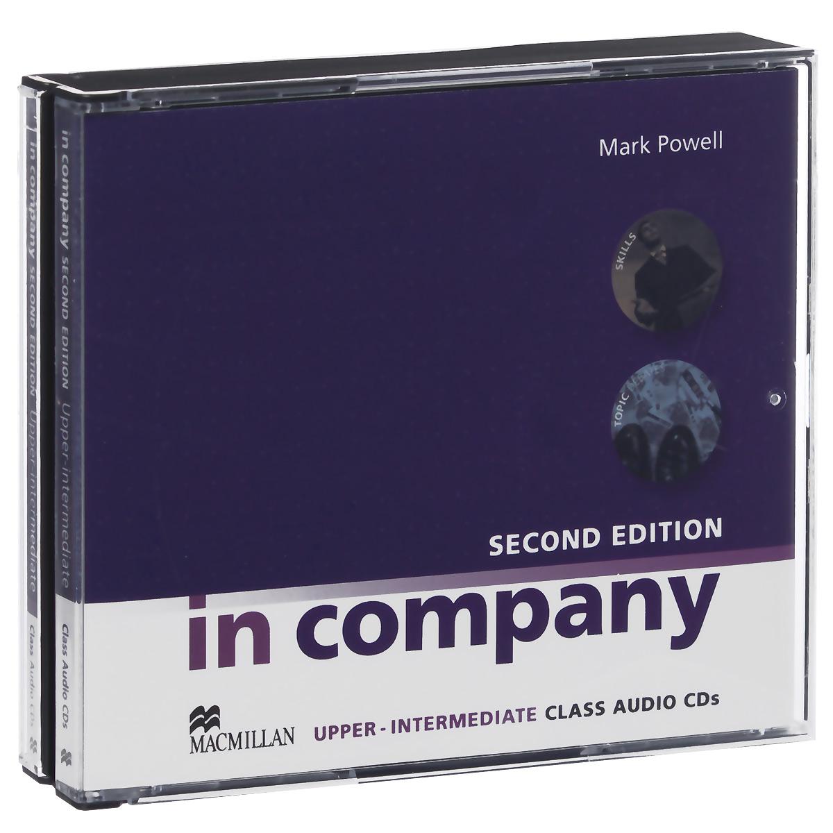 In Company: Upper-Intermediate: Class Audio CDs (аудиокурс на 4 CD)