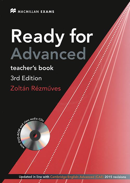 Ready for Advanced: Teacher's Book (+ DVD-ROM, 2 CD) диски cd r 80min 700mb verbatim 52x shrink 25 43726