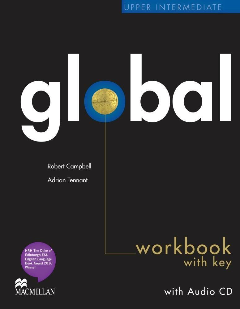 Robert Campbell, Adrian Tennant Global Upp Int WB (+ CD) robert campbell adrian tennant global upp int wb cd