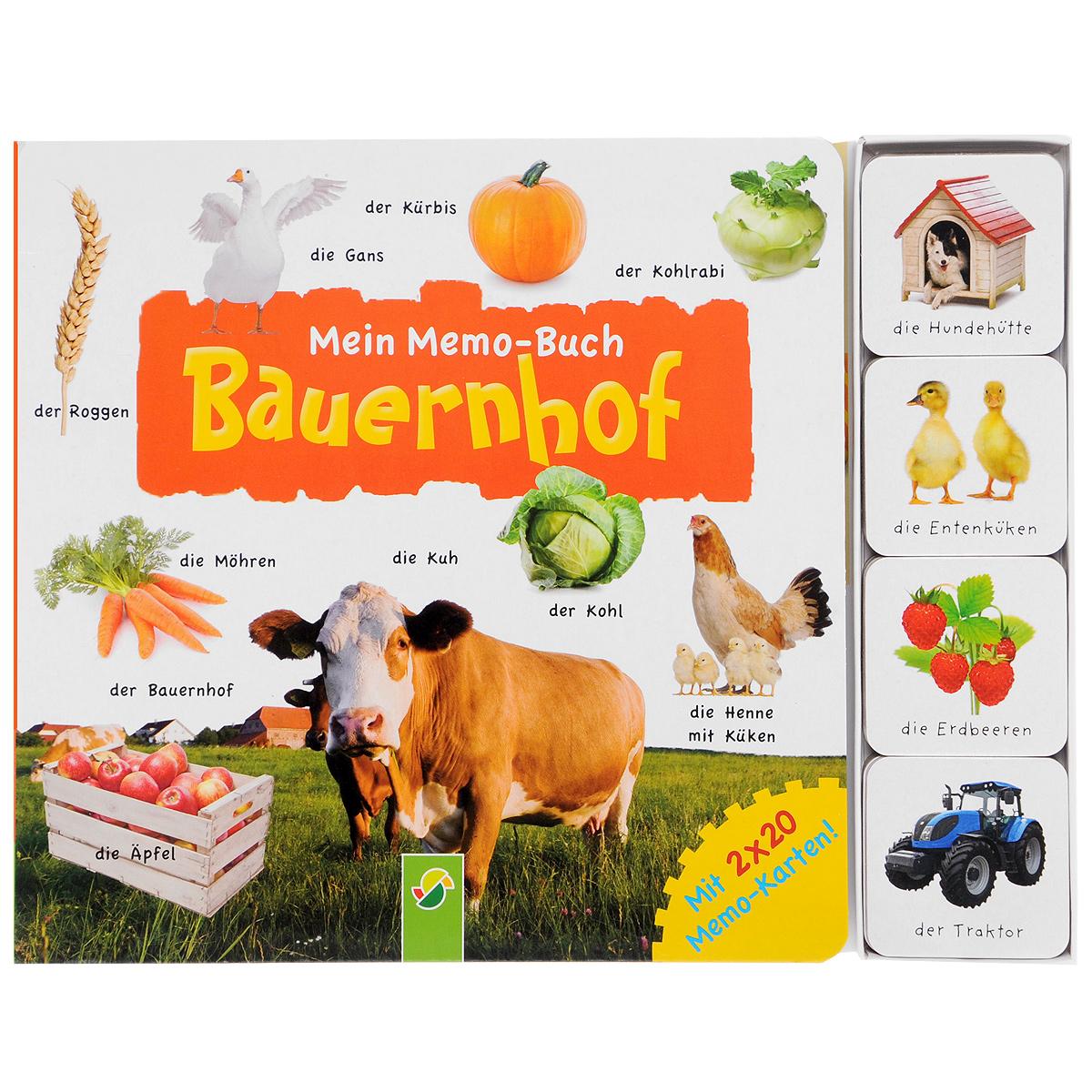 Mein Memo-Buch: Bauernhof (+ набор из 40 карточек)