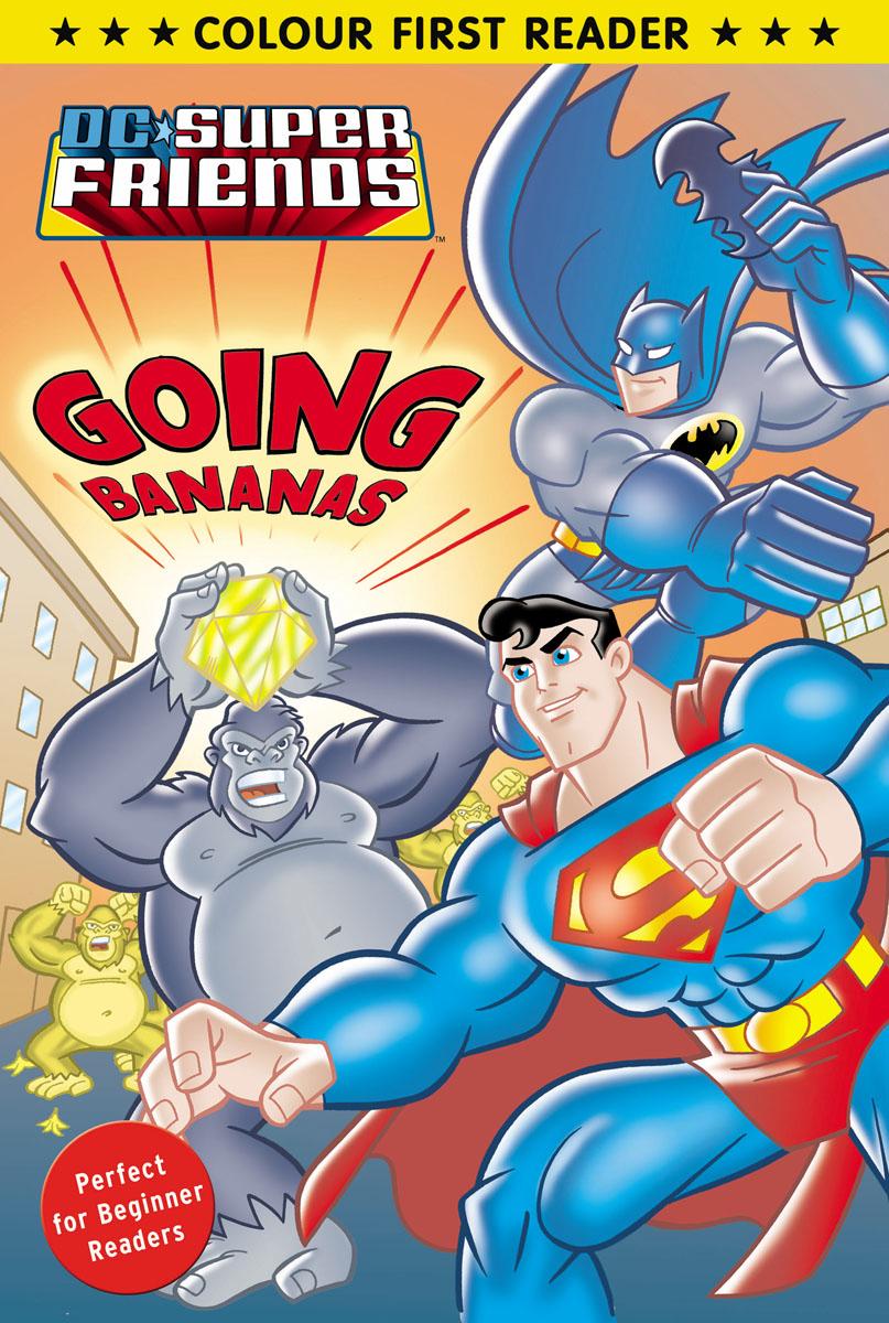 DC Super Friends: Going Bananas кухонная мойка smeg vstq 40 2