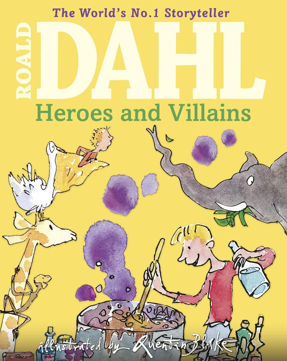 Dahl, Roald Roald Dahl's Heroes and Villains молотый кофе paulig presidentti tumma 1 кг