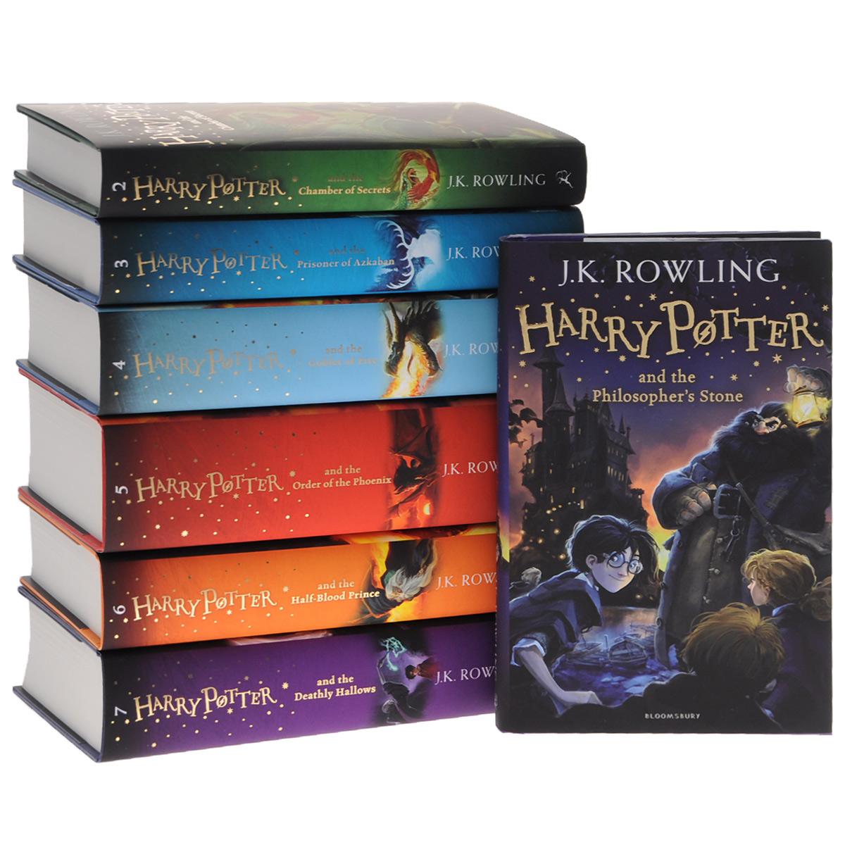 J. K. Rowling. Harry Potter: The Complete Collection (комплект из 7 книг)