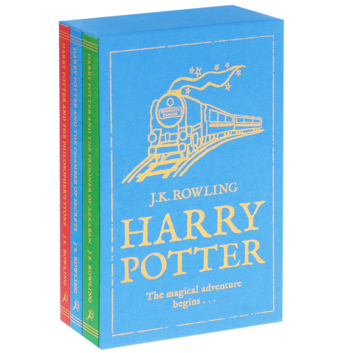 J. K. Rowling. Harry Potter: The Magical Adventure Begins (комплект из 3 книг)