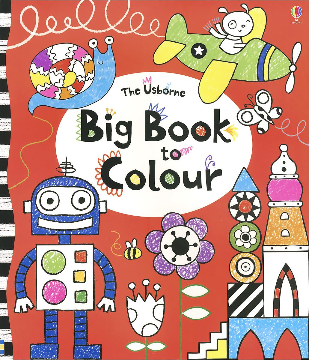 Anna Milbourne The Usborne Big Book to Colour hide this spanish book
