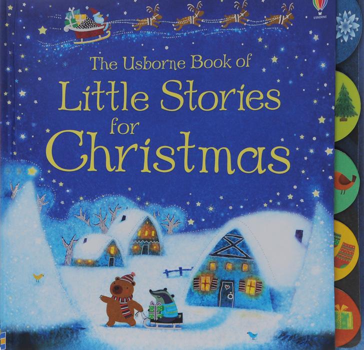 Sam Taplin The Usborn Book of Little Stories for Christmas кольца д занавесок primanova 12 шт серые