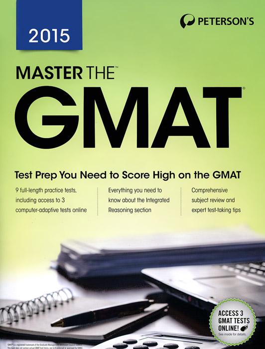 Книга Master the GMAT 2015. Carol Domblewski