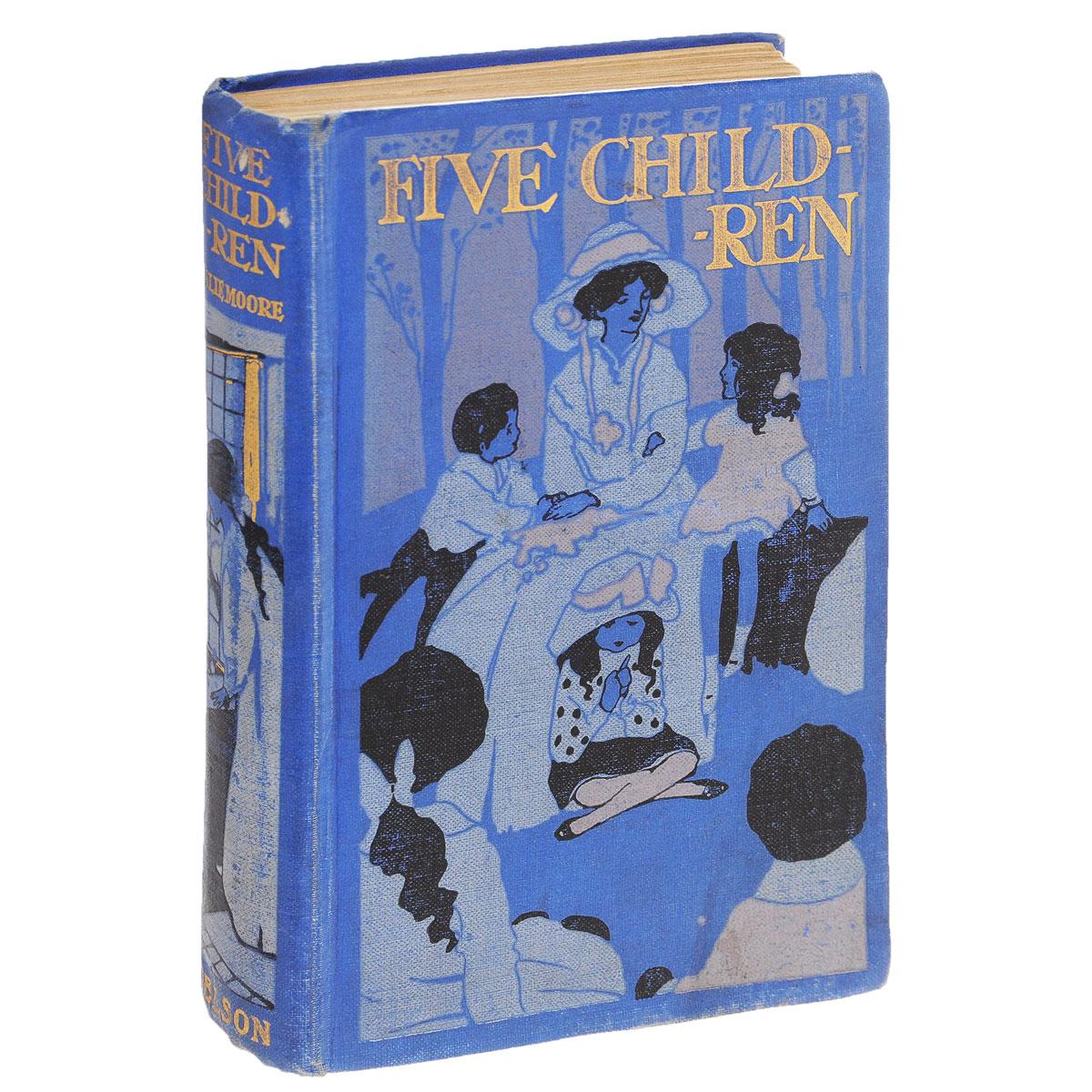 Five Children and Their Adventures1Вашему вниманию представлено антикварное издание FIVE CHILDREN AND THEIR ADVENTURES 1910 года. Издательский переплет, хорошее состояние.