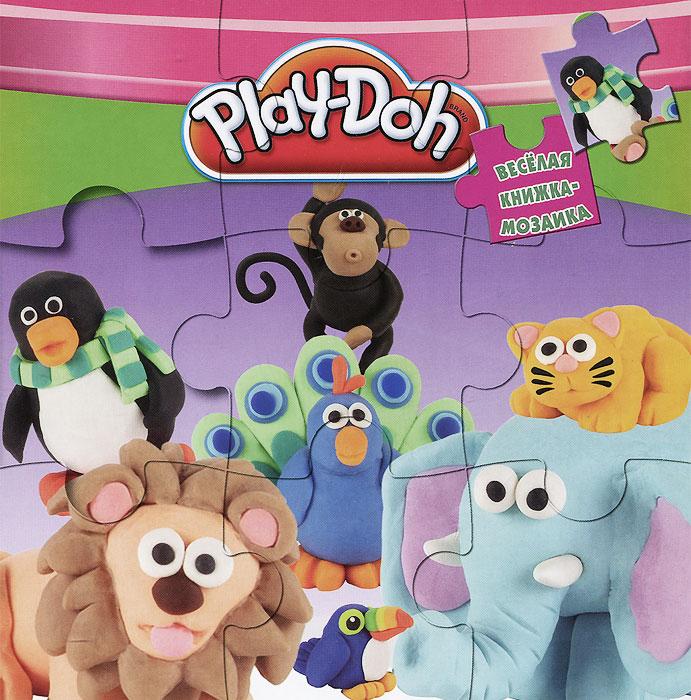 Play-Doh. Книжка-мозаика