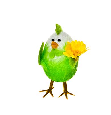 Декоративное украшение Home Queen Приветливый цыпленок, цвет: зеленый, 7 см х 4,5 см х 10 смNLED-405-0.5W-MДекоративное украшение Home Queen Приветливый цыпленок изготовлено из пера, полиэстера и пластика. Украшение выполнено в виде милого цыпленка. Такое украшение прекрасно оформит интерьер дома или станет замечательным подарком для друзей и близких на Пасху.