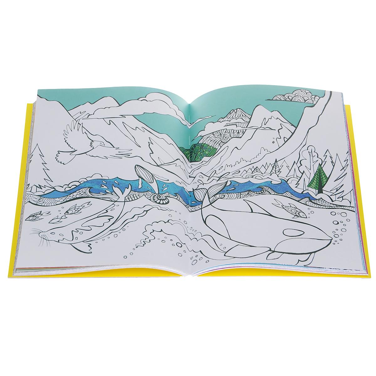 Cindy Wilde, Laura-Kate Chapman, Richard Merritt. Colour Therapy: An Anti-Stress Colouring Book