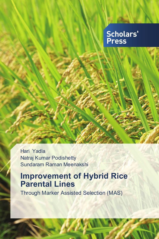 Hari Yadla,Natraj Kumar Podishetty and Sundaram Raman Meenakshi Improvement of Hybrid Rice Parental Lines rakesh kumar dubey and hari har ram bottlegourd breeding