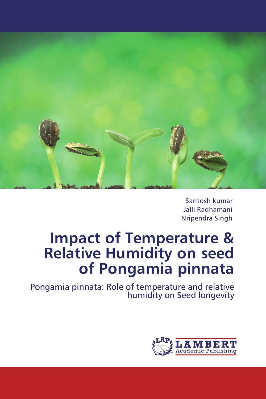 Santosh Kumar,Jalli Radhamani and Nripendra Singh Impact of Temperature & Relative Humidity on seed of Pongamia pinnata santosh kumar singh biodiversity assessment in ocimum using molecular markers