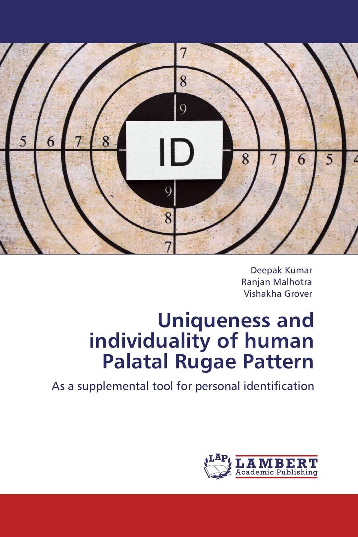 Deepak Kumar,Ranjan Malhotra and Vishakha Grover Uniqueness and individuality of human Palatal Rugae Pattern gurpreet kaur deepak grover and sumeet singh chlorhexidine chip